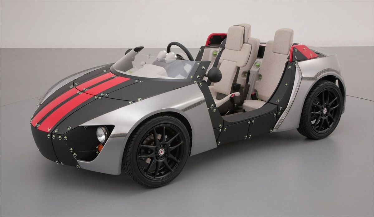 Toyota Camatte57s want to build your own car Toyota Car