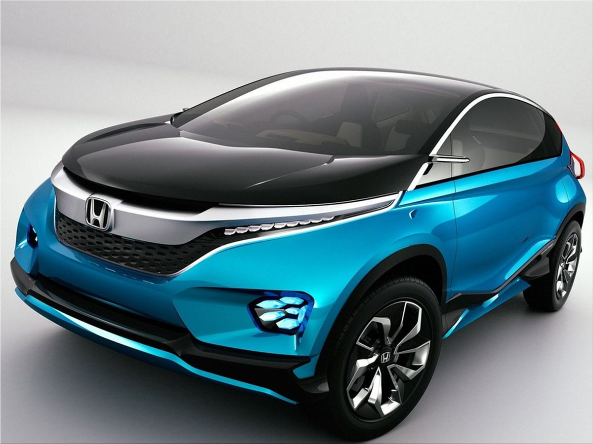 Honda vision xs 1 concept at the 2014 auto expo honda car for Future honda cars