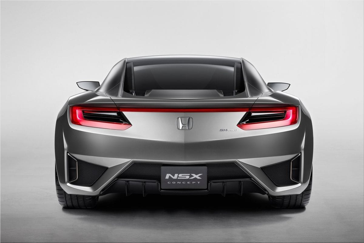 2012 Honda NSX Concept Honda car pictures