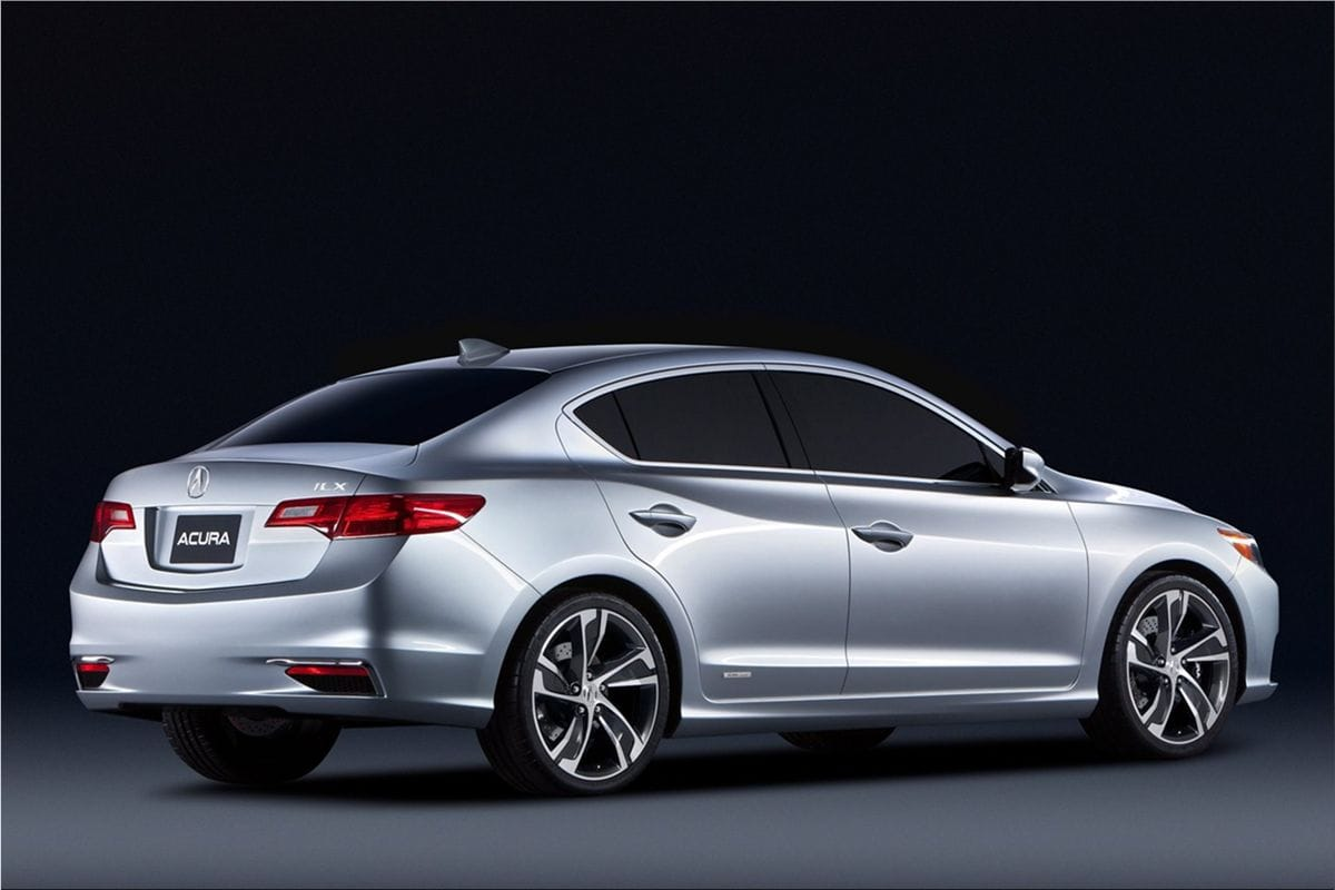 Acura ILX Concept combines luxury, performance and efficiency|Acura car pictures