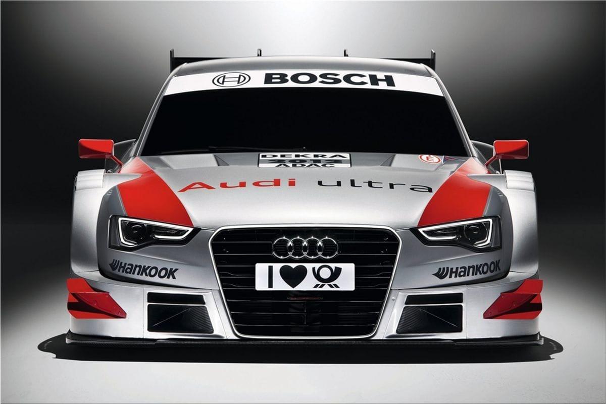 Audi A5 Dtm Racing Car Audi