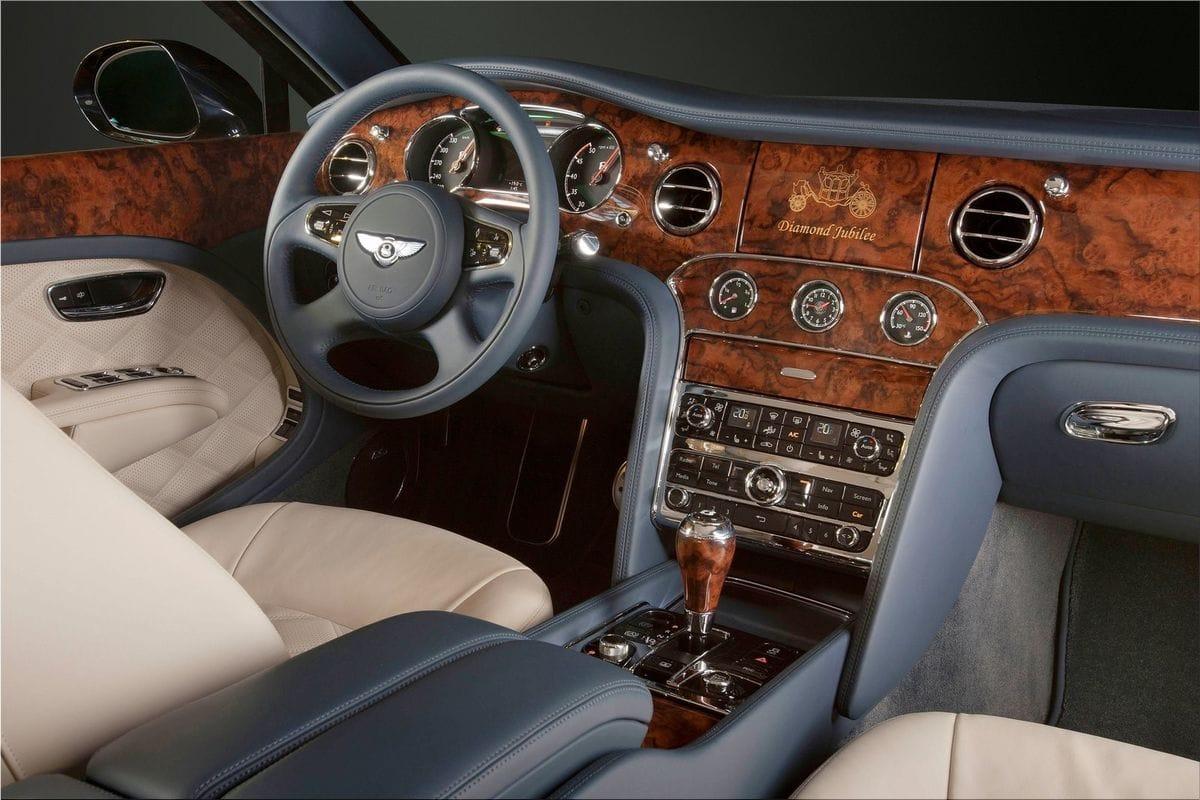 2012 Bentley Mulsanne Diamond Jubilee true to the Mulliner tradition ...