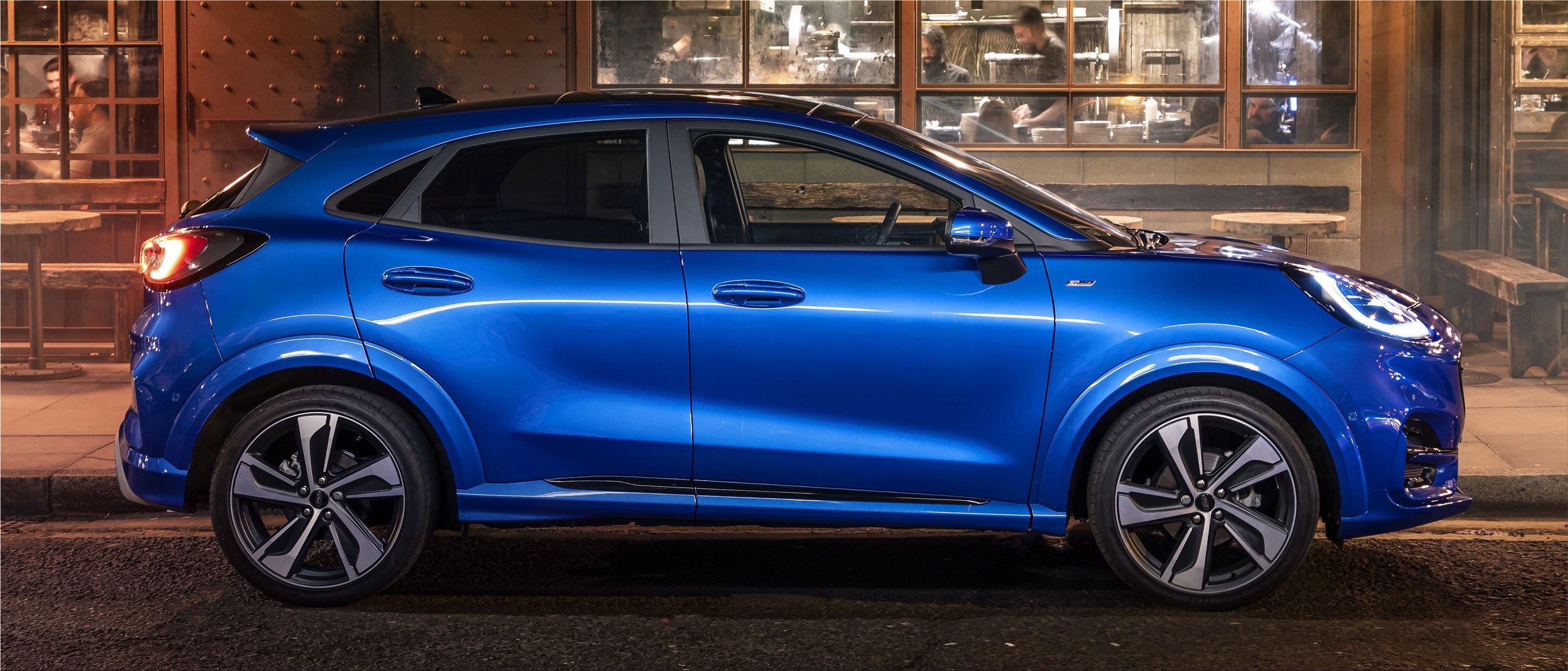 The luxurious Ford Puma ST-Line Vignale   Car Division