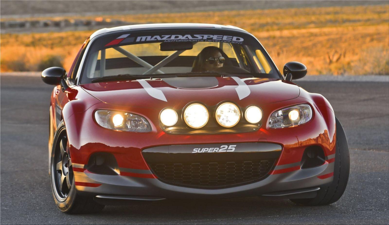 Mazda MX-5 Super 25 Concept on 17-inch Volk Racing T37|Mazda car ...