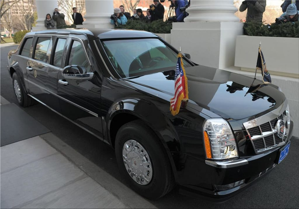 The Beast - the presidential limousine Cadillac Car Division