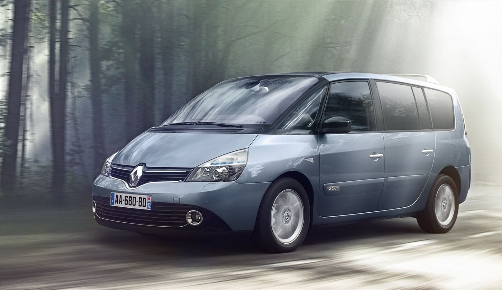 Renault Espace features Renault's new styling identity|Renault car