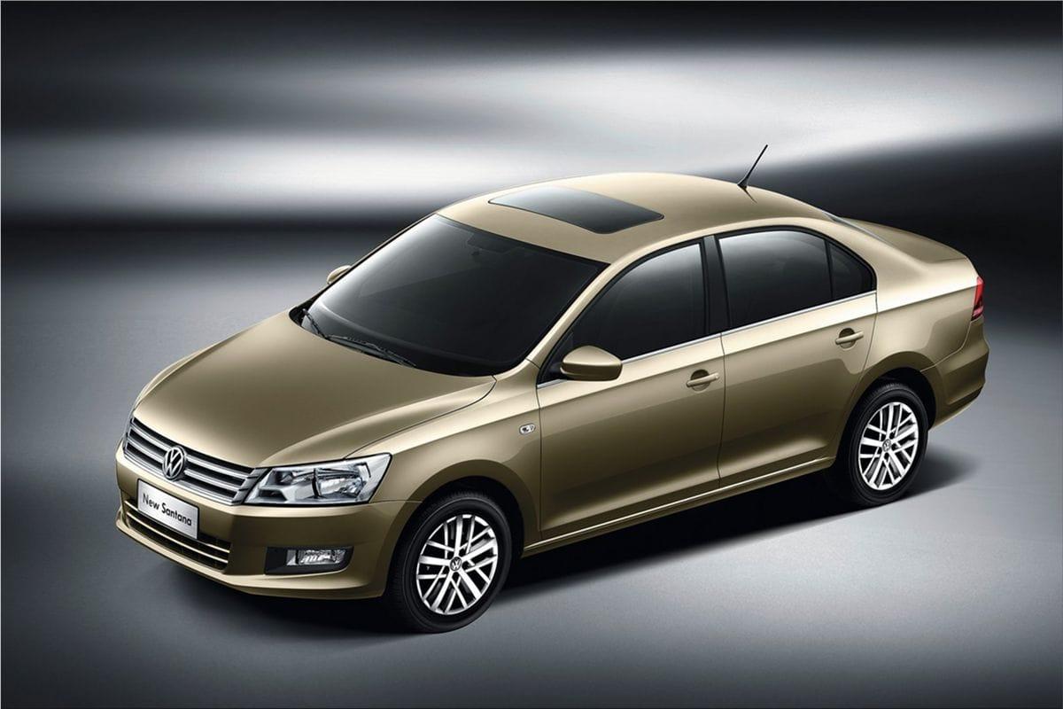 Volkswagen Santana Second Generation