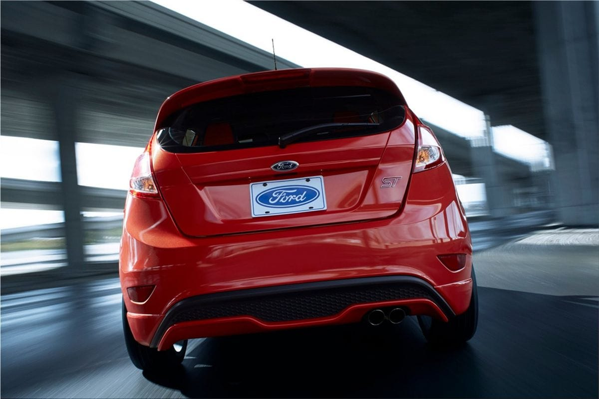 ford fiesta st with 200hp at l a auto show ford car pictures. Black Bedroom Furniture Sets. Home Design Ideas