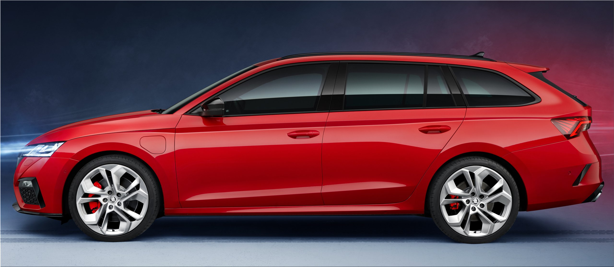 The New Skoda Octavia Rs Iv Hybrid Will Be Available From September Car Division