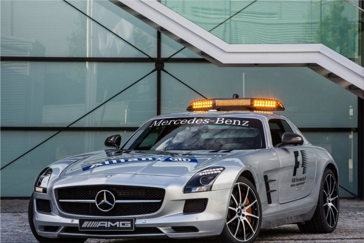 2013 Mercedes SLS AMG GT F1 Safety Car