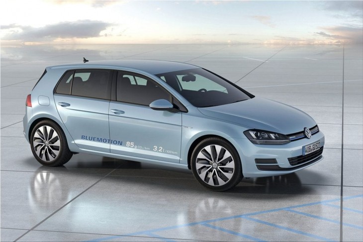 2012 VW Golf BlueMotion Concept