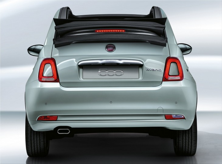 Fiat 500 Hybrid is the first mild hybrid small city car