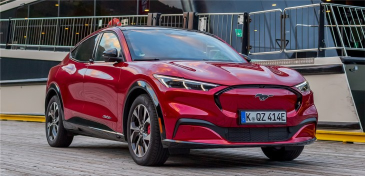 Ford Mustang Mach-E electric SUV