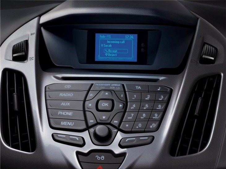 Ford Transit Connect Wagon interior
