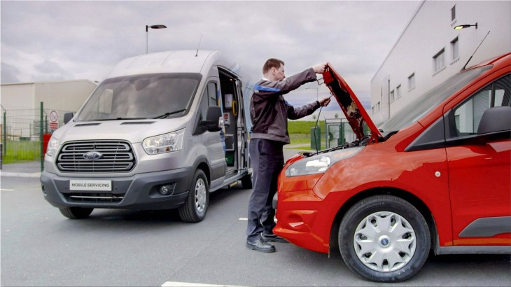 Ford launches a mobile auto service