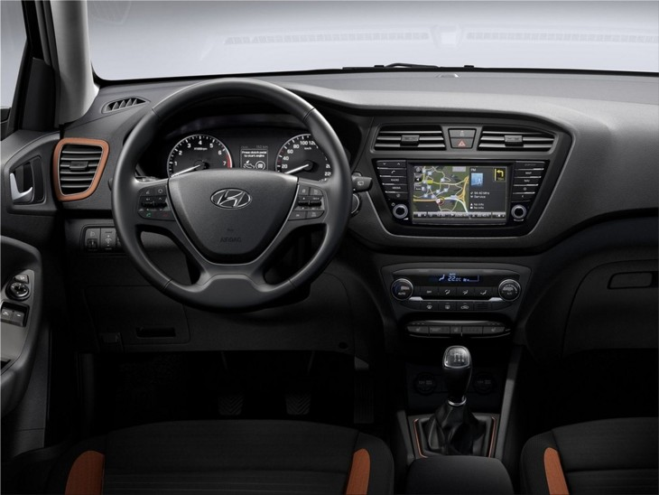 Hyundai i20 Coupe 2015 interior