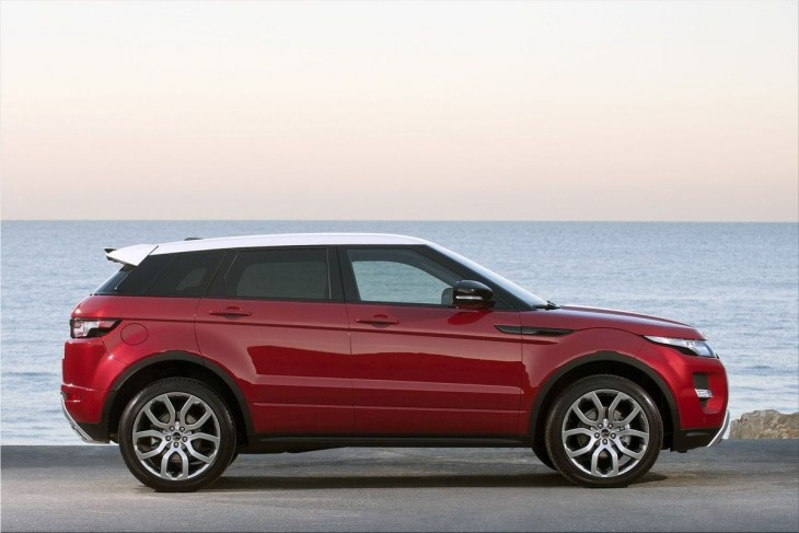 2012 Land Rover Range Rover Evoque 5-door