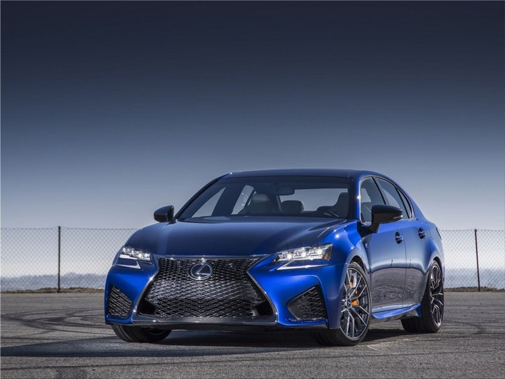 Lexus GS F sports sedan