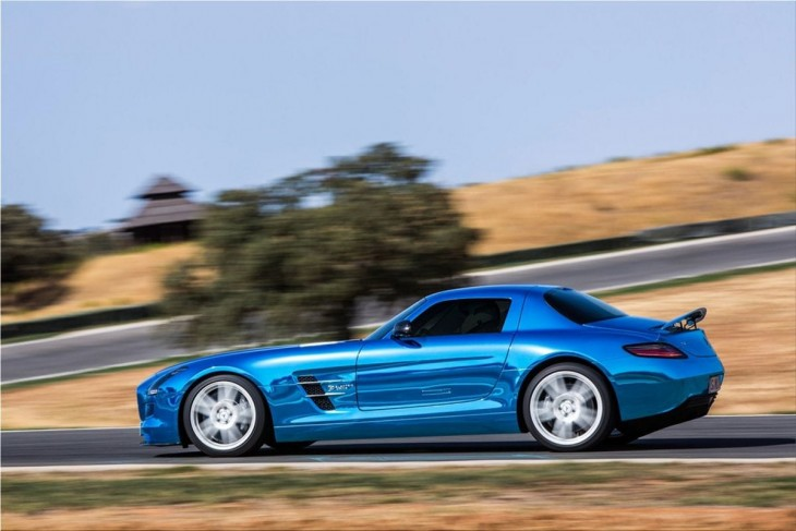 Mercedes SLS AMG Coupe Electric Drive