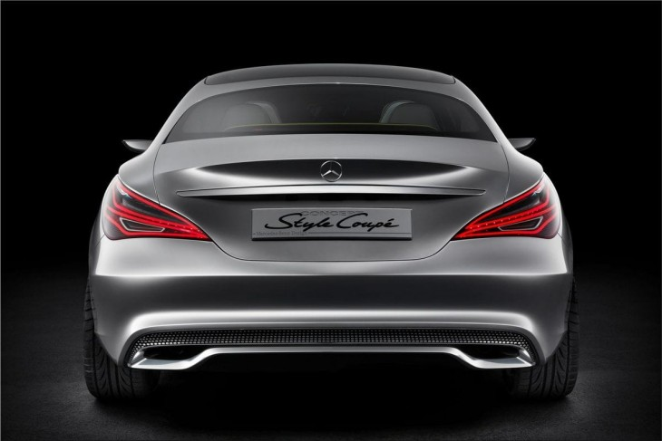 2012 Mercedes Style Coupe Concept