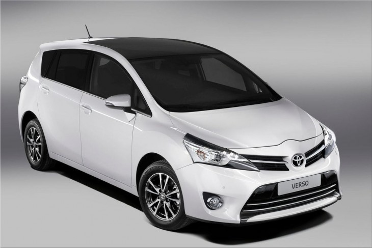 2013 Toyota Verso powerful and sophisticated