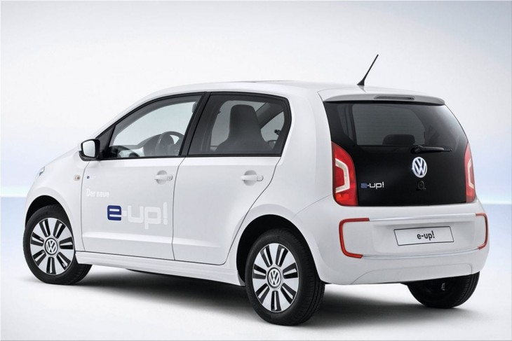 Volkswagen e-Up electric car