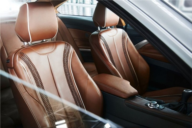 BMW 4-Series Coupe interior