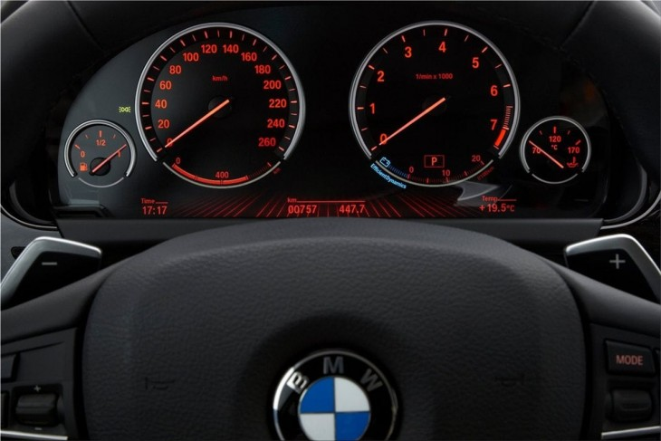 BMW 6-Series Coupe interior