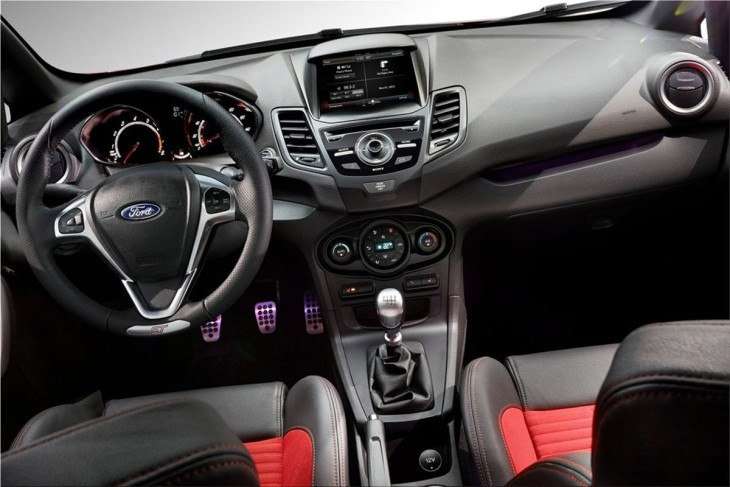 Ford Fiesta ST interior