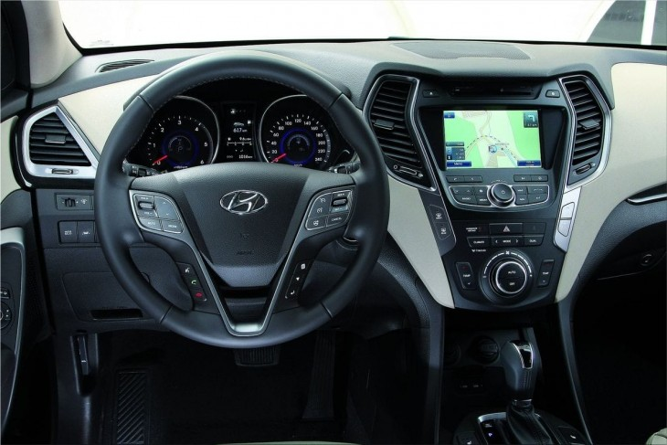 2013 Hyundai Santa Fe EU-Version