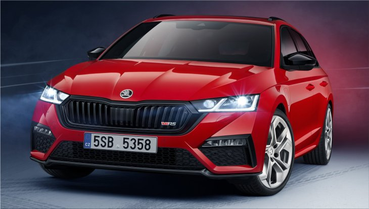 The new Skoda Octavia RS iV Hybrid will be available from September