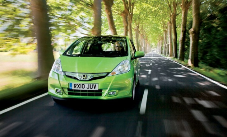 Honda Fit Hybrid is the cheapest hybrid car in Japan