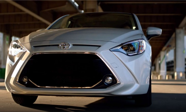 2019 Toyota Yaris Sedan - efficiency, fun, comfort at a reasonable price