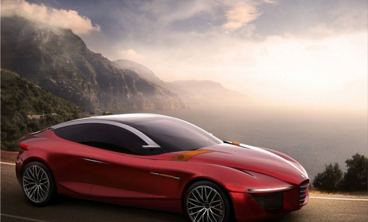 Alfa Romeo Gloria Concept an international challenge