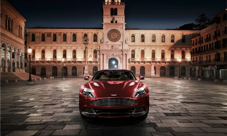 Aston Martin AM 310 Vanquish luxury sports car