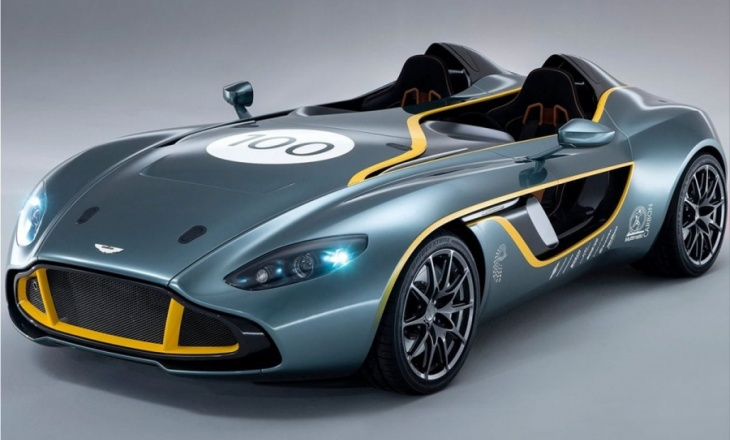 Aston Martin CC100 Speedster Concept Car Debut