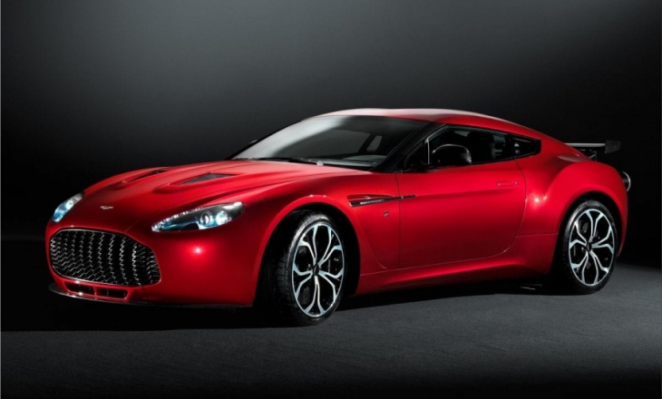 Aston Martin V12 Zagato is the pinnacle of the Vantage range