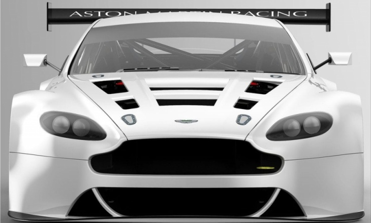 Aston Martin Vantage GT3 race car