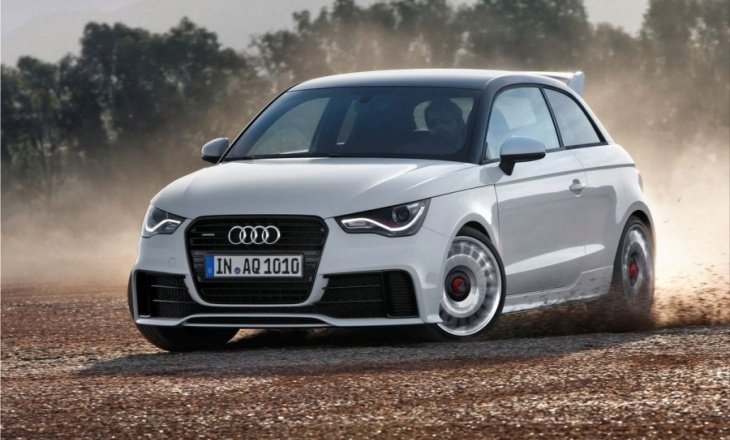Audi A1 quattro restricted to only 333 units