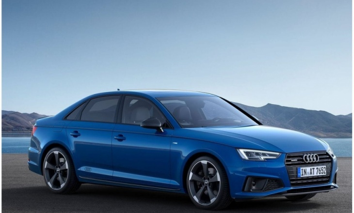 Audi launches a minor facelift for A4 Sedan and Avant