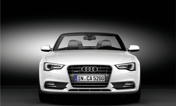Audi A5 Cabriolet - efficiency, sportiness and intelligence