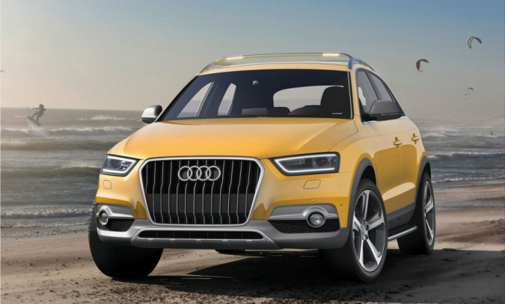 2012 Audi Q3 Jinlong Yufeng Concept at Auto China 2012