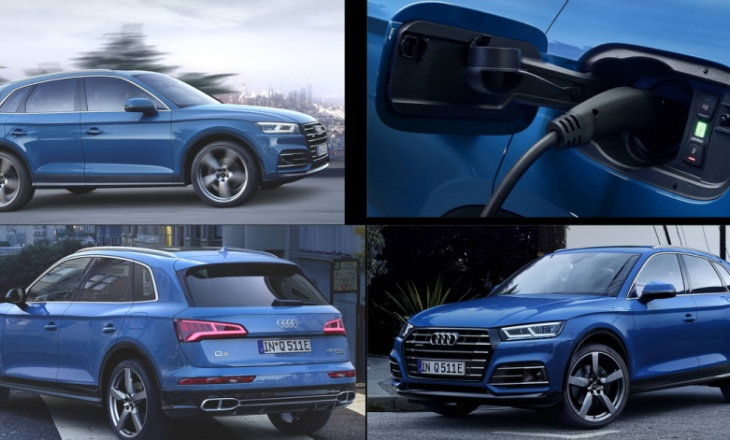 Audi Q5 55 TFSI e quattro with plug-in hybrid powertrain 367 hp