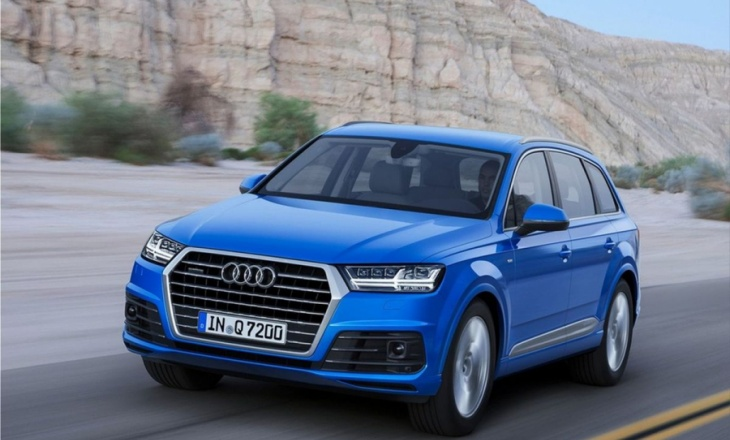 Audi Q7 - charming, fast, lightweight and proficient