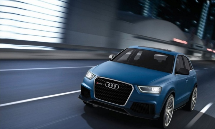 2012 Audi RS Q3 Concept exciting element execution
