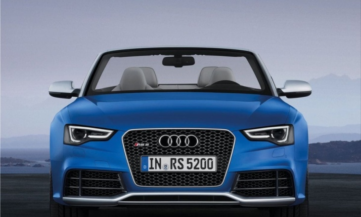Audi RS5 Cabriolet - four-seat convertible