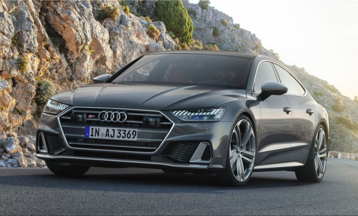 US premiere: Audi S7 Sportback with petrol engine