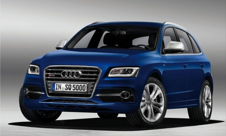 2013 Audi SQ5 TDI revised Q5 model series