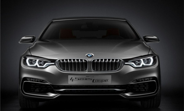 Perfection in proportions - BMW 4-Series Coupe Concept