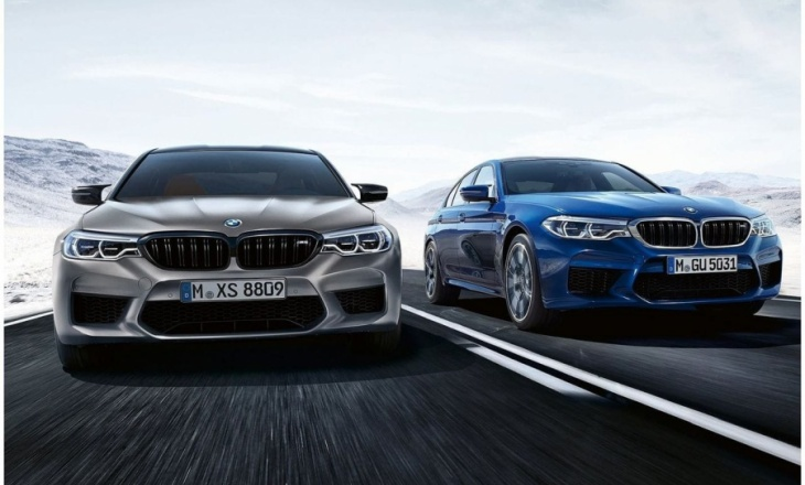 BMW officially presents the new M5 (F90) Competition Package